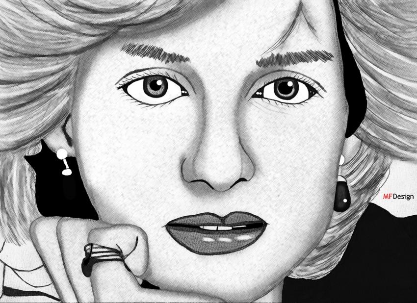 Lady Diana by merytamon